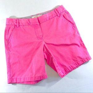 """J. Crew 9"""" Fuschia Pink Chino Short (12)"""